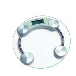 Bilancia digitale pesapersone in vetro portata 150 Kg.