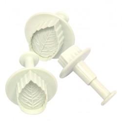 Tagliabiscotti a forma di Foglie con estrattore Fackelmann