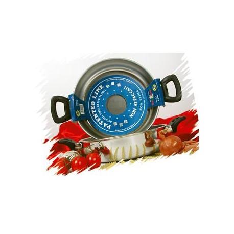 Tegame cm.24 - 2 manici in Acciaio Inox Antiaderente