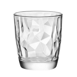 Bicchieri Acqua Diamond Bormioli in vetro trasp.cl.30,5 Set 3 bicchieri