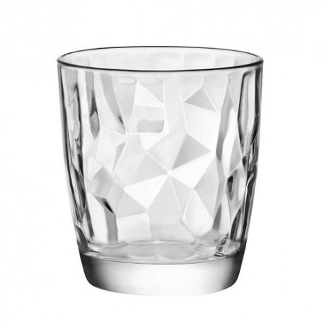 Bicchieri Acqua Diamond Bormioli in vetro trasp.cl.30,5 Set 6 bicchieri