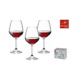 Calice Divino Vino Rosso Bormioli in vetro cl.53 Set 6 calici