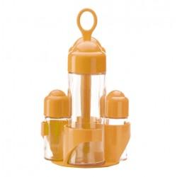 Oliera Menage 4 pz. Jolly Colore Giallo Abert