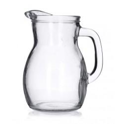 Brocca Caraffa Bistrot in vetro lt.1 Bormioli