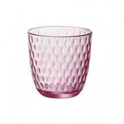 Bicchieri Acqua Slot Lilac Rose Bormioli in vetro cl.29 Set 6 bicchieri