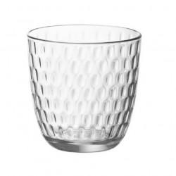 Bicchieri Acqua Slot Trasparente Bormioli in vetro cl.29 Set 6 bicchieri