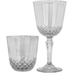 Servizio 6 Bicchieri Acqua + 6 Calici Vino Diony Pasabahce