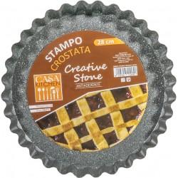 Stampo Crostata cm.28 Creative Stone