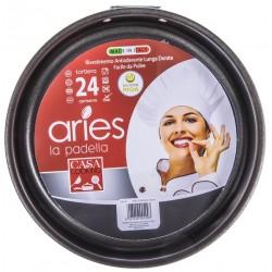 Tortiera cm.24 Aries Antiaderente Alluminio