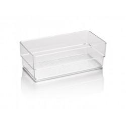 Cestino multiuso in plastica rigida cm.15,5X7,5X5