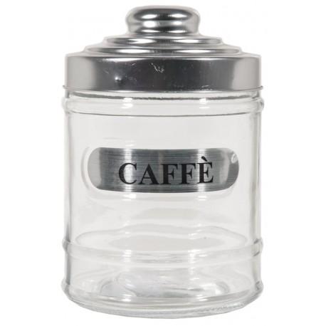 BARATTOLO ANTICA DISPENSA CAFFE' IN VETRO C/TAPPO