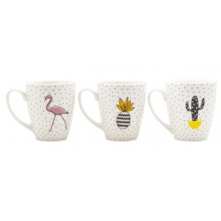 Tazzone Mug New Bone China 400 ml. decori assortiti