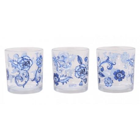 Bicchieri Acqua Linda Almeira in vetro cl.22 Set 6 bicchieri