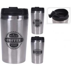 BICCHIERE TERMICO MUG COFFEE INOX ML.450