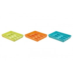 Portaposate da cassetto Sunrise in plastica cm.25x32x4,5 Vari colori
