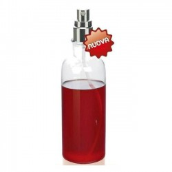 Oliera Acetiera Spray 500 ml.vetro e inox