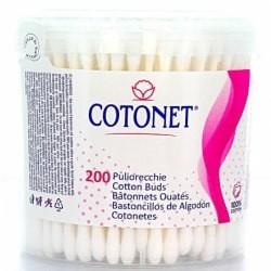 COTONET PULIORECCHIE COTTON FIOC CARTA 200 PZ. BIODEGRADABILI IN BARATTOLO