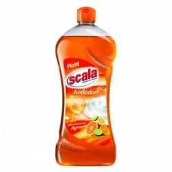 SCALA DETERSIVO PIATTI ANTIODORI AGRUMI 750 ml