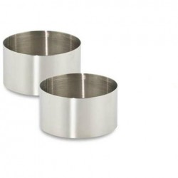 Coppapasta Inox set 2 pezzi cm.7,5 e cm.9 Pedrini