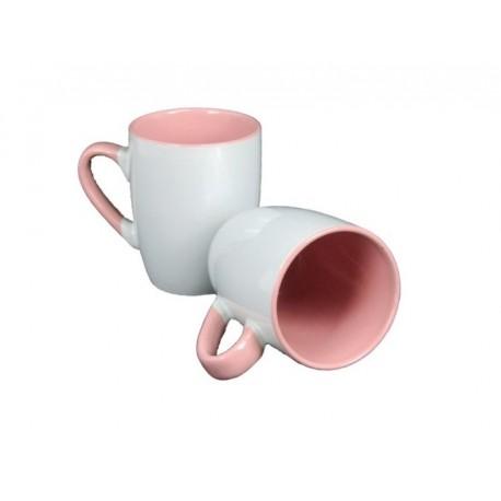 Tazzone Mug Bicolor Rosa 360 ml.