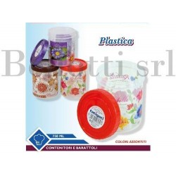 BARATTOLO PLASTICA DECOR 750 ML.FATIGATI