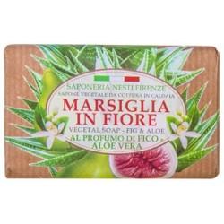 SAPONETTA NATURALE MARSIGLIA GR.125 FICO E ALOE NESTI