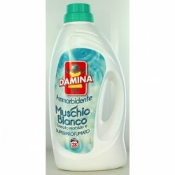DAMINA AMMORBIDENTE MUSCHIO BIANCO 1,8 LT 24 LAVAGGI