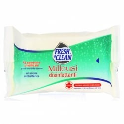 FRESH&CLEAN SALVIETTE DISINFETTANTI 12 PZ.